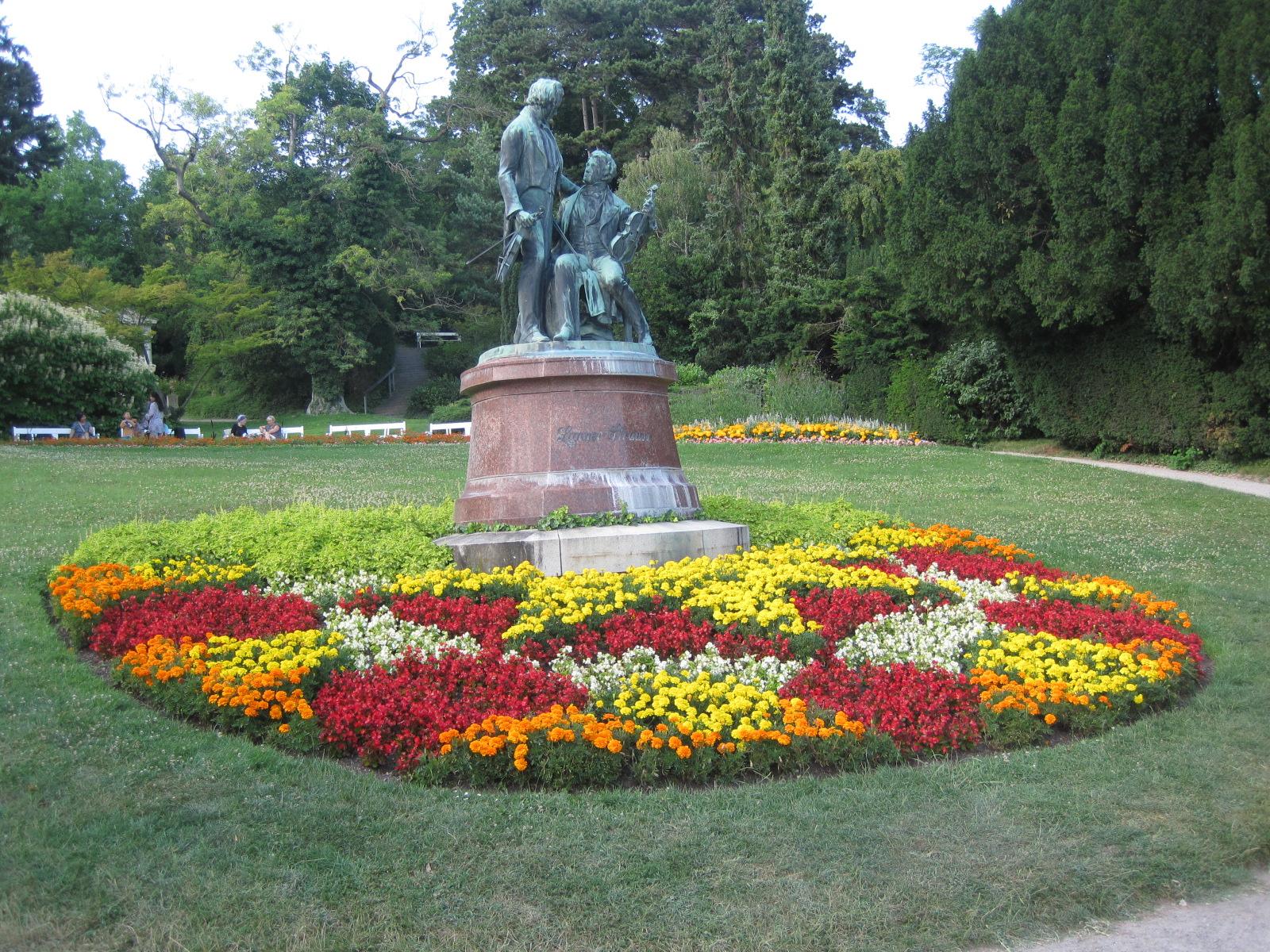 Strauss, Baden, Musica, Natura, Fiori